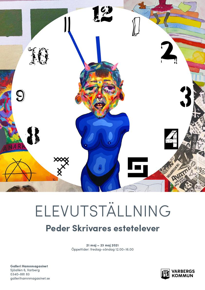 Elevutställning – Peder skrivares estetelever – 21-23 maj 2021
